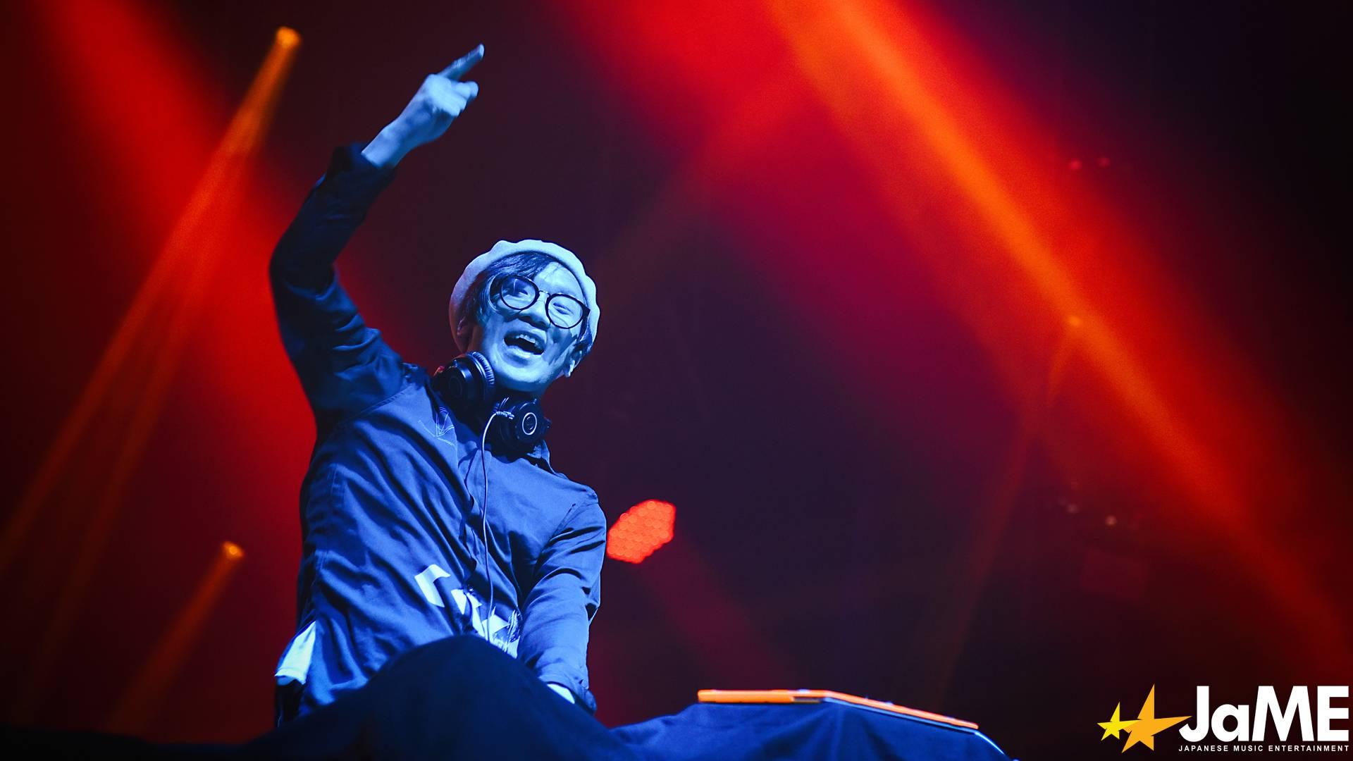 DJ Gettsu von EXIT TUNES auf der Bühne