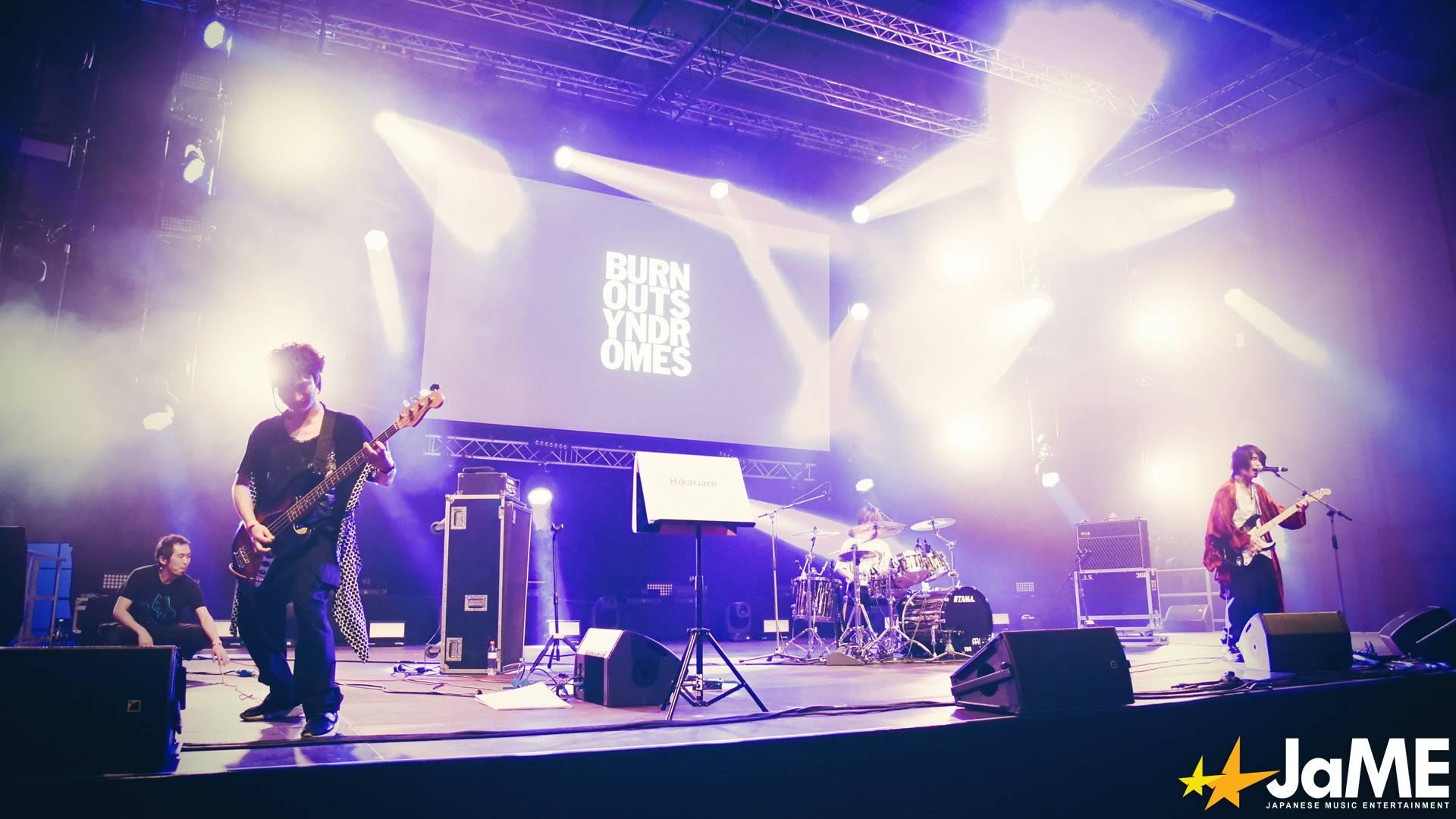 BURNOUT SYNDROMES live auf der Animesse Berlin 2019